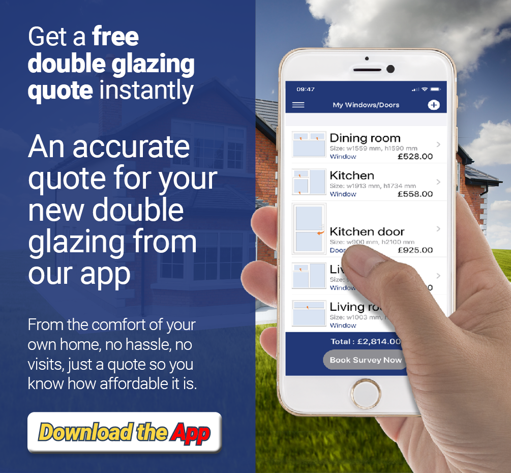 Download the Doubleglazing app